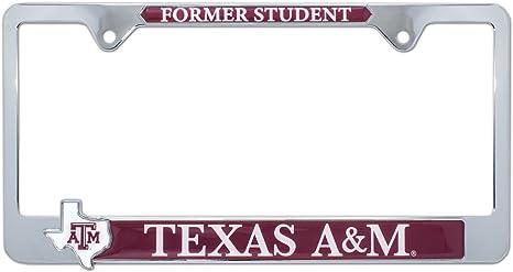 Elektroplate Texas A/&M University Aggies 3D License Plate Frame