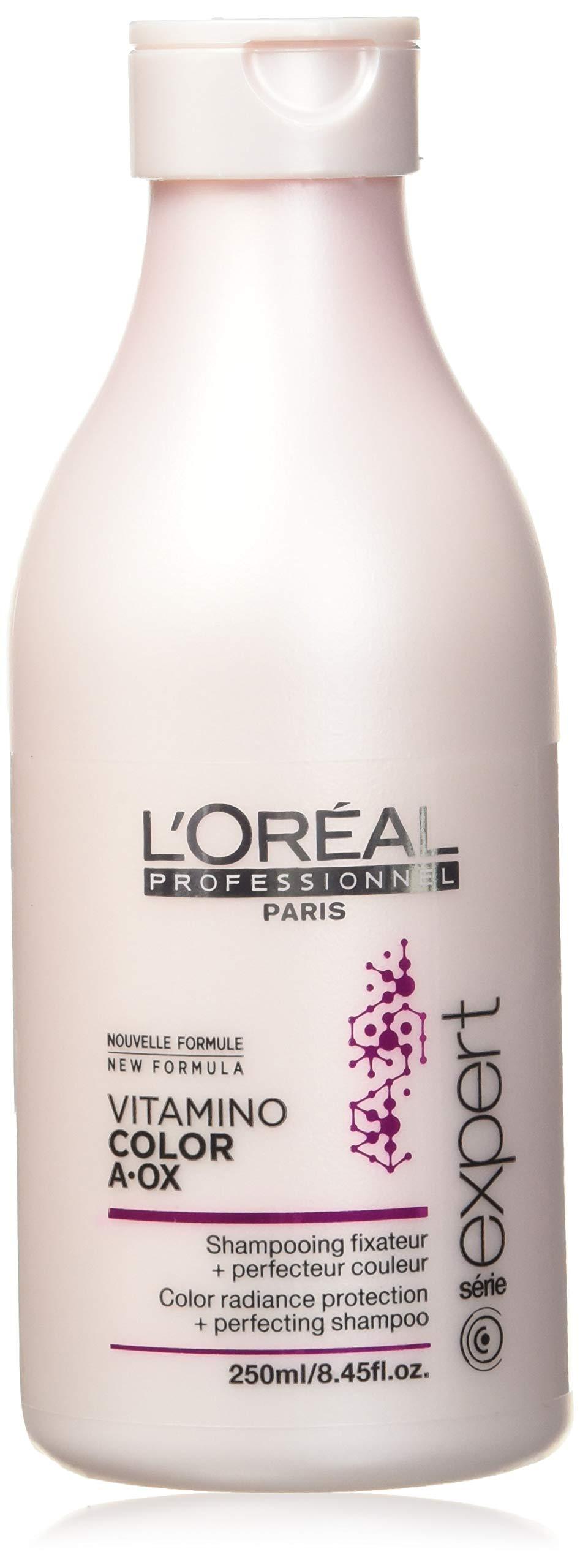 L'Oreal Professional Serie Expert Vitamino Color A-Ox Shampoo, 8.44 Ounce