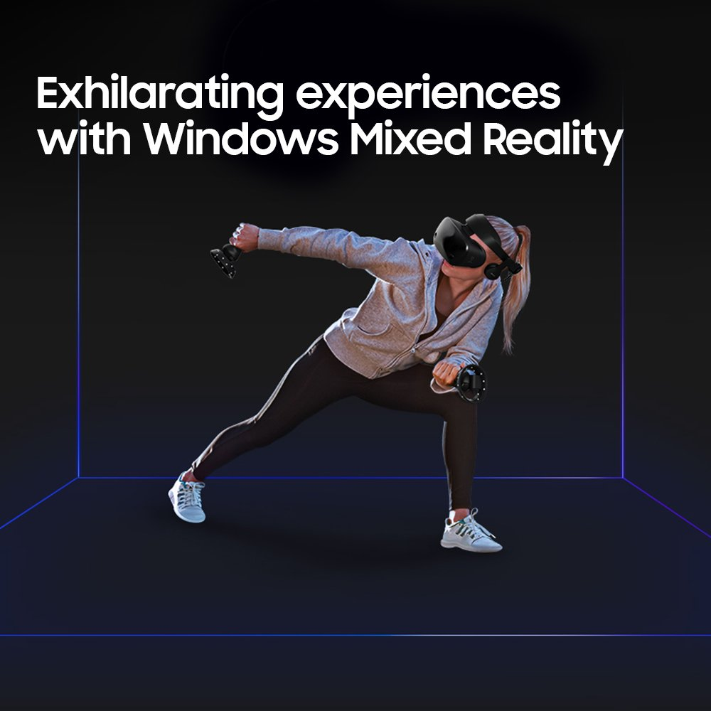 Samsung Hmd Odyssey Windows Mixed Reality Headset with 2 Wireless Controllers (XE800ZAA-HC1US) by Samsung (Image #7)