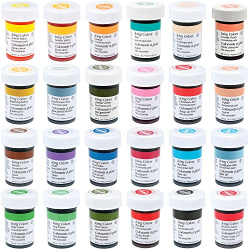 Wilton Master 24 Icing Color 1-Ounce Set (Wilton Icing Color)