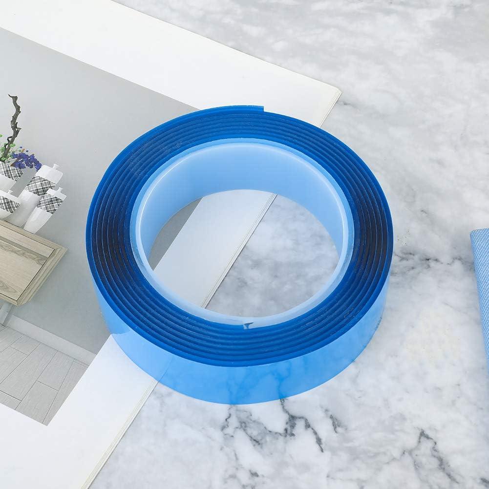 Tagaremuser Ruban adh/ésif double face lavable sans traces 3 m