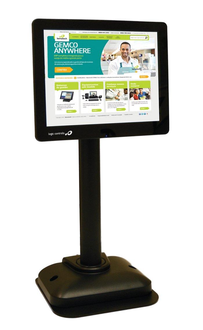 8.4 Length Bematech LV4000U LCD Pole Display USB 800 x 600 Resolution