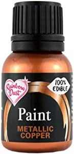 Rainbow Dust Edible Food Paint METALLIC COPPER For Cake Decorating Sugarcraft