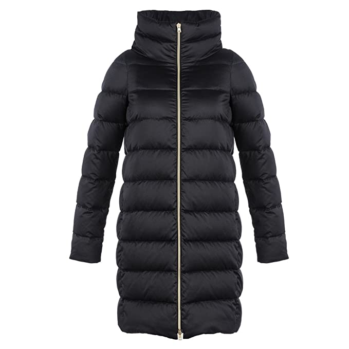 Herno 7975X Giubbotto Donna Black Piumino Winter Jacket Woman [46]: Amazon.es: Ropa y accesorios