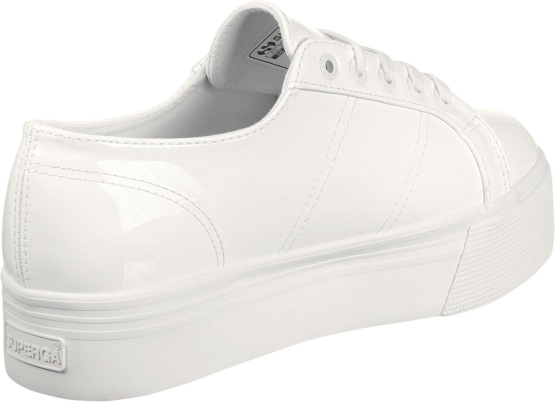 Superga 2790 Pupatent W Lo Sneaker Schuhe weiß 1kNxVd