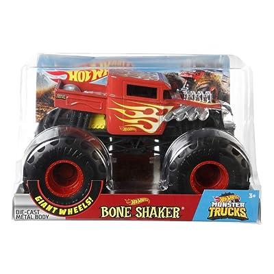 Hot Wheels Bone Shaker #2 Monster Truck, 1:24 Scale: Toys & Games