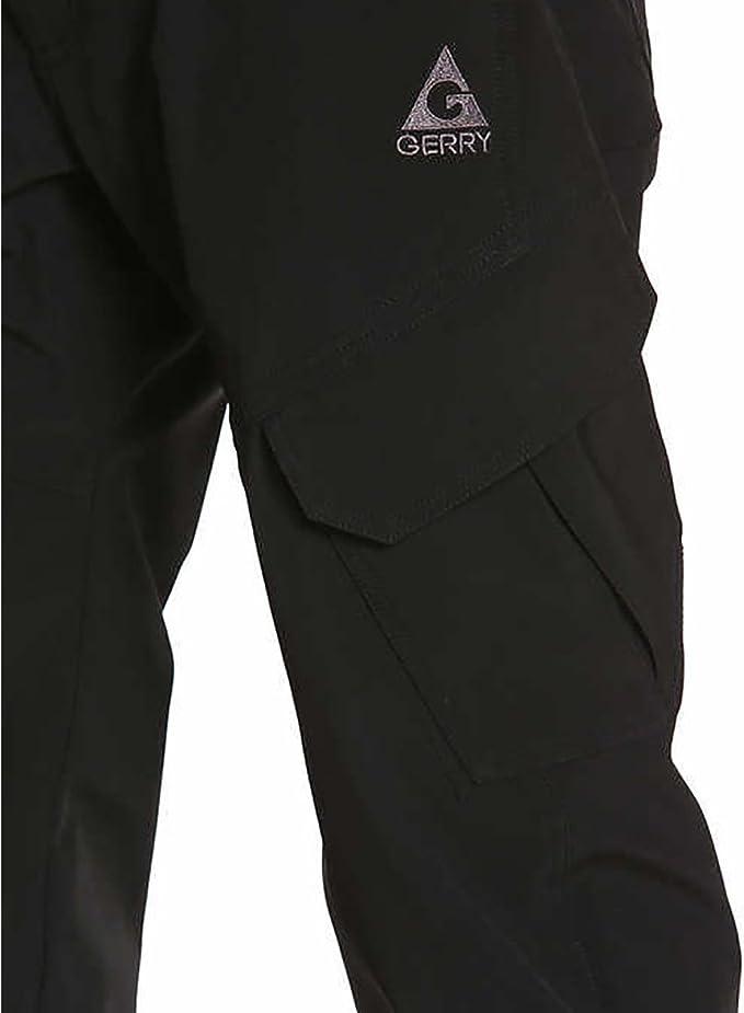 Color Gerry Men/'s Ski Snow Pant Black 4-Way Stretch