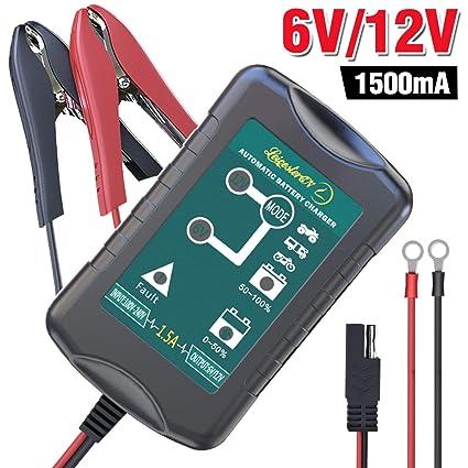 Cargador de batería de mantenimiento automático Mantenedor ...