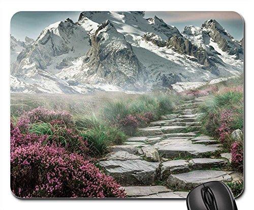 Mouse Pads - Mountain Landscape Mountains Landscape Steinweg (Recovery Peak)