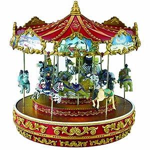 Amazon.com: Mr. Christmas Triple Decker Carousel: Home & Kitchen