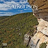 Arkansas, Wild & Scenic 2019 7 x 7 Inch Monthly Mini Wall Calendar, USA United States of America Southeast State Nature