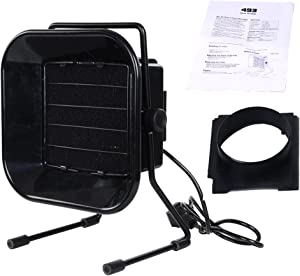 YaeTek Adjustable Solder Smoke Absorber Remover Bench Top Fume Extractor Carbon Filter Quiet Exhaust Fan for Soldering Station ESD-Safe 1000l/min