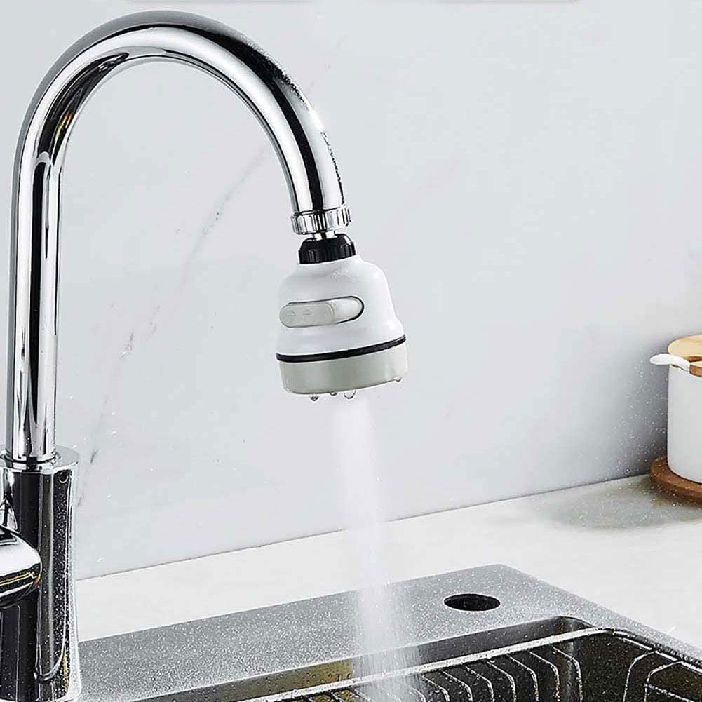 Adjustable Faucet Filter Flexible Water Saving Faucet Faucet Sprayer Filter Tap Kitchen for Home for Office Bathroom