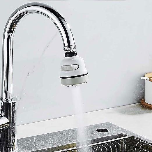Kitchen Sink Faucet Filter Tap Sprayer Head Nozzle Water Saving w// Flexible Hose