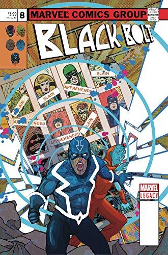 Black Bolt (Issue #8 -Lenticular Homage Variant by Christian Ward)