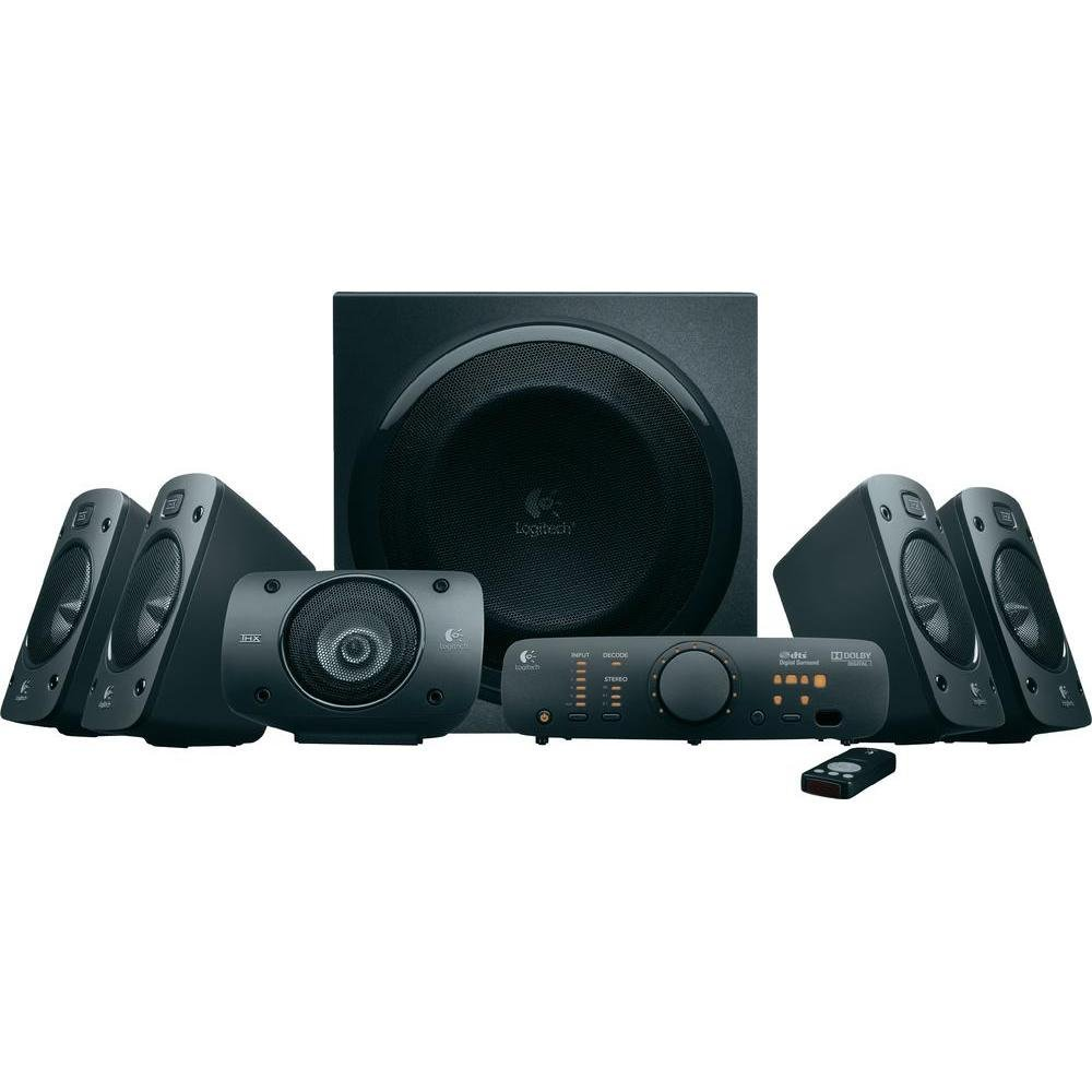 [amazon.de] Logitech Logitech Z906 3D-Stereo 5.1 Dolby Surround Sound, THX, 1000 W za 175€ umjesto 399€