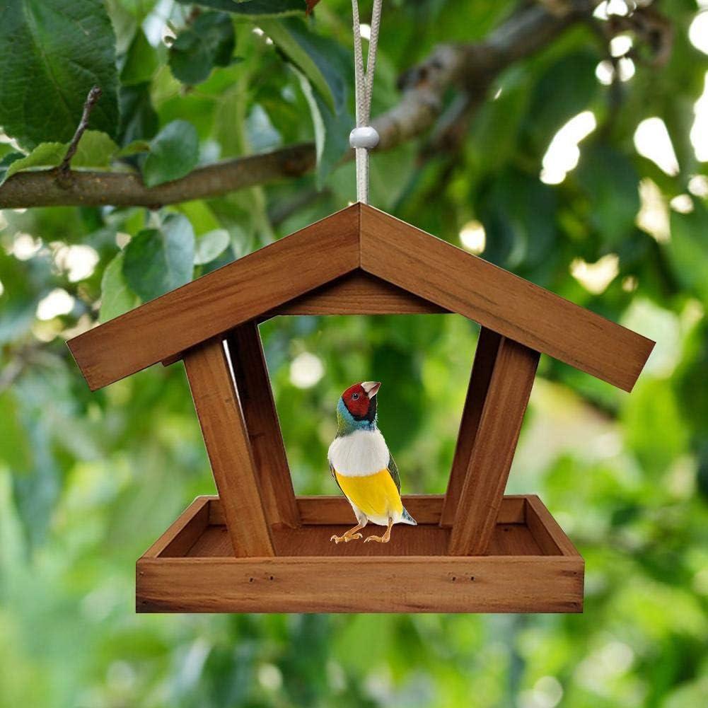 Yunhigh-uk - Comedero para pájaros, pérgola Loro, Loro, Nido de pájaro: Amazon.es: Productos para mascotas