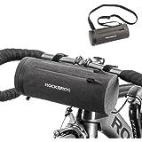 ROCK BROS Bike Handlebar Bag Bicycle Front Frame Storage Bag Commuter Shoulder Bag Water Resistant Large-Capacity Front…