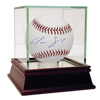 Baseball-mlb Justus Sheffield Signed Official Mlb Baseball Yankees Rookie Autograph Steiner Online Shop