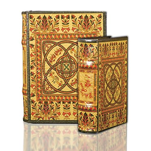 - Hypnotizing Elegants - Medieval Celtic Knot Pattern Secret Book Box Set with Irish Design