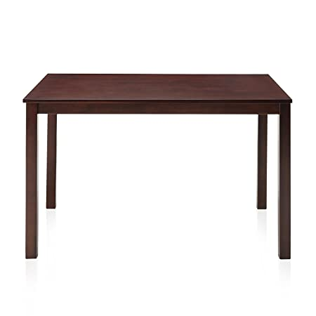 @home by Nilkamal  Four Seater Dining Table (Polished Finish, Brown)