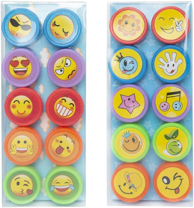 Assorted Stamps use in School for Toddlers Kids Children 20 Animals Teacher Reward Stamps for Sunday School