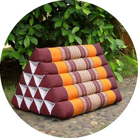 LIQICAI Cojín Triangular Almohada Tailandés Cojín De ...
