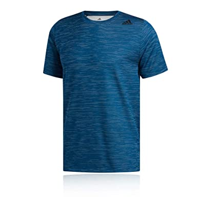adidas Ffreelift_Tech Fitted Striped Heather Tee T Shirt