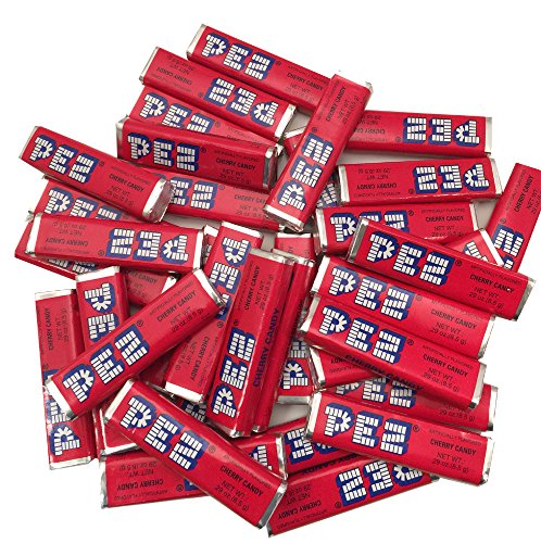 Cherry Pez Candy Rolls 1 Pound Resealable Bag by The Online Candy - Pound One Shop Online