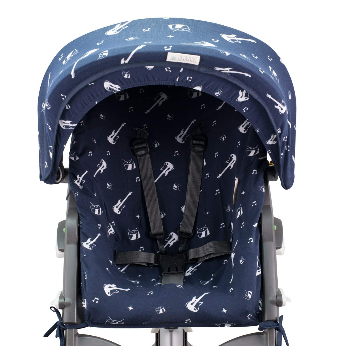 Janabebé Hood Canopy for Stokke Xplori and Stokke Crusi (Rock Hero) by JANABEBE (Image #5)