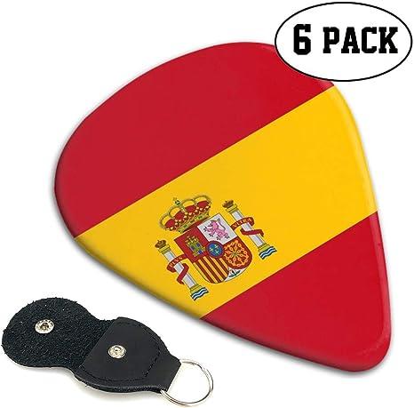 MZ-HY - Púas de Guitarra Personalizadas con la Bandera de España ...