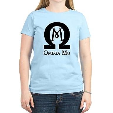 709b3a6ce9598 CafePress - Omega MU - Black - Women's Light T-Shirt - Womens Cotton T