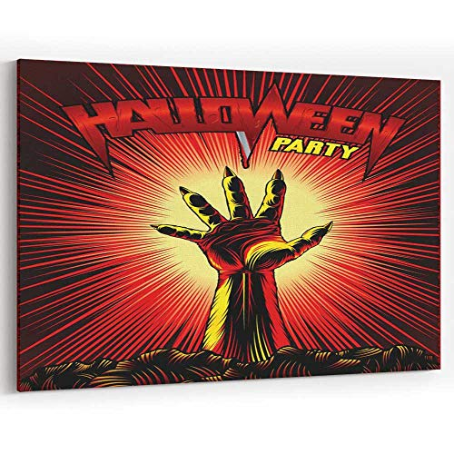 Actorstion Zombie H Halloween Party V Tage Beam Horror Pr t Poster Canvas Pr ts Wall Art,Wall -