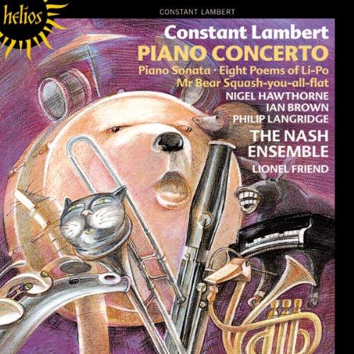 Lambert: Piano Concerto, Sonata for Piano