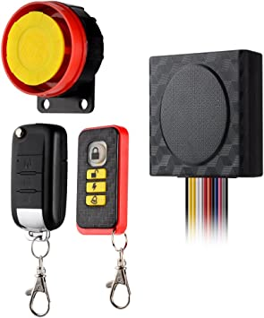 BlueFire Motorcycle Security Kit Alarm System Anti-Hijacking Cutting Off