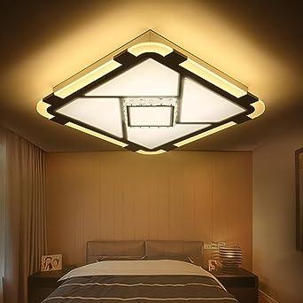 Uberlegen Deckenleuchte LED, Contemporary Acryl Kristall Lampe, Rechteckig  Lampenschirm, Deckenbeleuchtung Für Wohnzimmer, Schlafzimmer