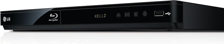HDMI, Upscaler 1080p, DivX-HD, USB 2.0 LG BD650 Blu-ray Player
