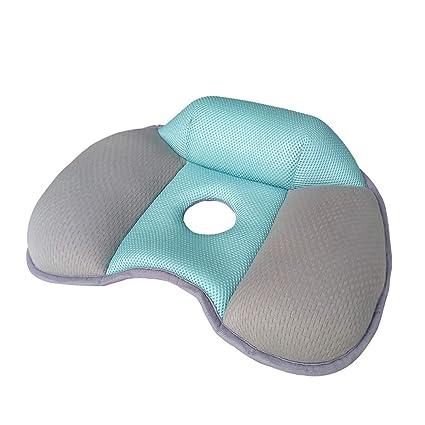 TT&CC Hermosas Nalgas Cojín del Asiento, Memoria Transpirable algodón Nido de Abeja Confort ergonómico Anti