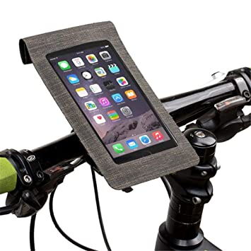WaterProof Bicycle Bike Handle Bar Smart Phone Case Holder Transparent Tube Bag