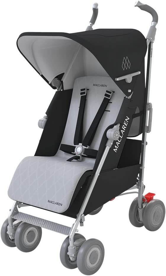 Maclaren Techno XLR - Silla de paseo, color negro/plata: Amazon.es ...