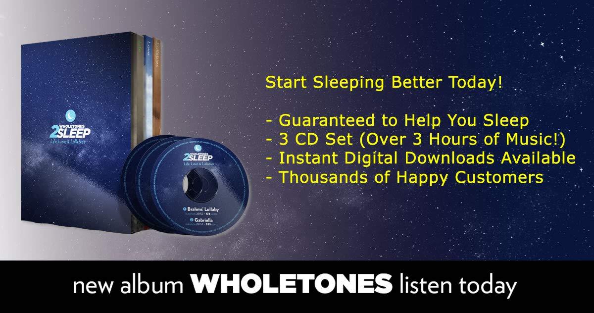 Wholetones: Life, Love & Lullabies 3-CD Set by Wholetones