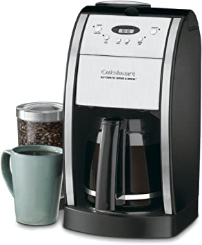 Amazon.com: Cuisinart DGB-800 Burr Molinillo y cafetera ...