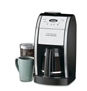 Cuisinart DGB-550BK Grind & Brew Automatic Coffeemaker 12 Cup Silver/Black