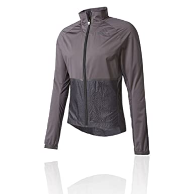 078ff6f5494d adidas Men s Adizero Slim Fit Track Jacket. Utility Black Black