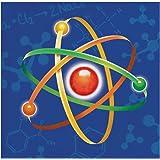 Creative Converting 317529 16 Count Paper Beverage Napkins, Mad Scientist