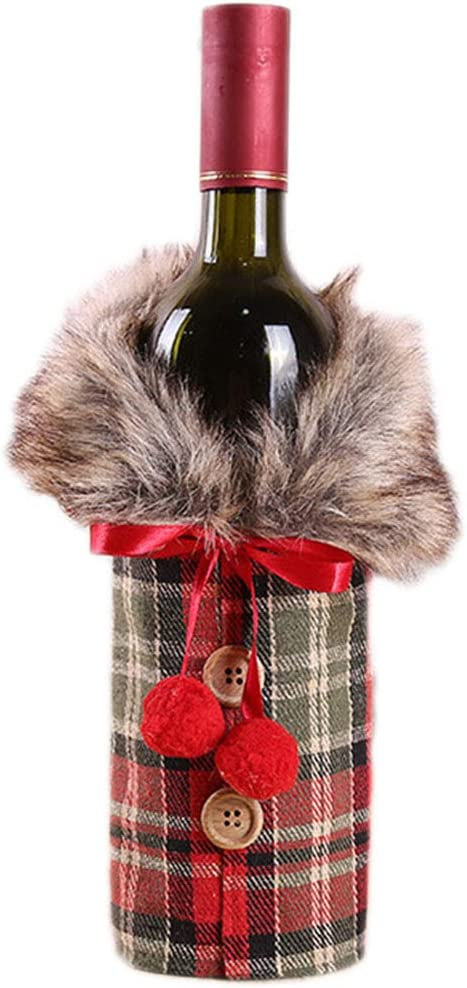 s. Charma adornos de Navidad de alta calidad peluche Set Botella ...