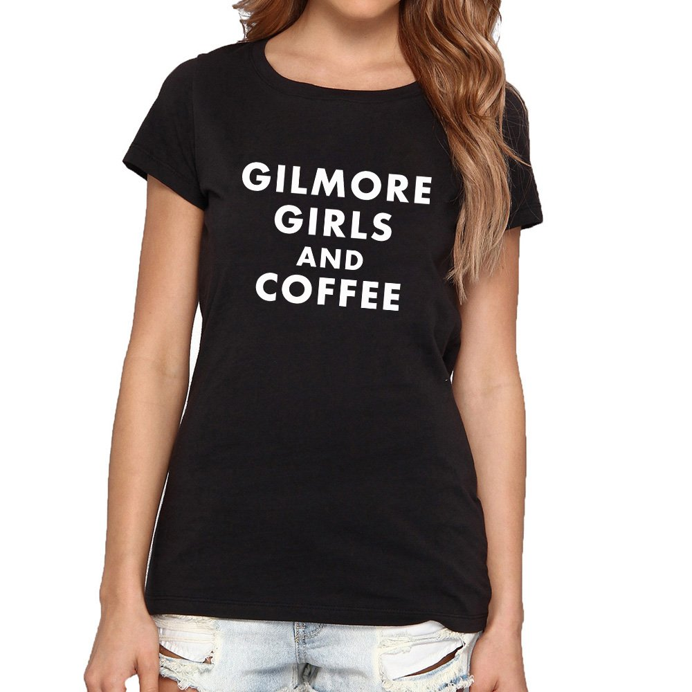 Loo Show Gilmore Girls and Coffee T-Shirts Women Tee-azvn