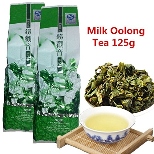 Comercio al por mayor jin xuan Leche Oolong Té 125g (0.28LB ...
