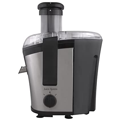 Morphy Richards Juice Xpress 700-Watt Juicer (Silver and Black)