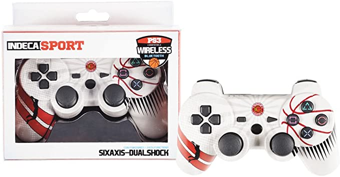 Indeca - Mando Wireless, Diseño Sport Baloncesto (PS3): Amazon.es ...